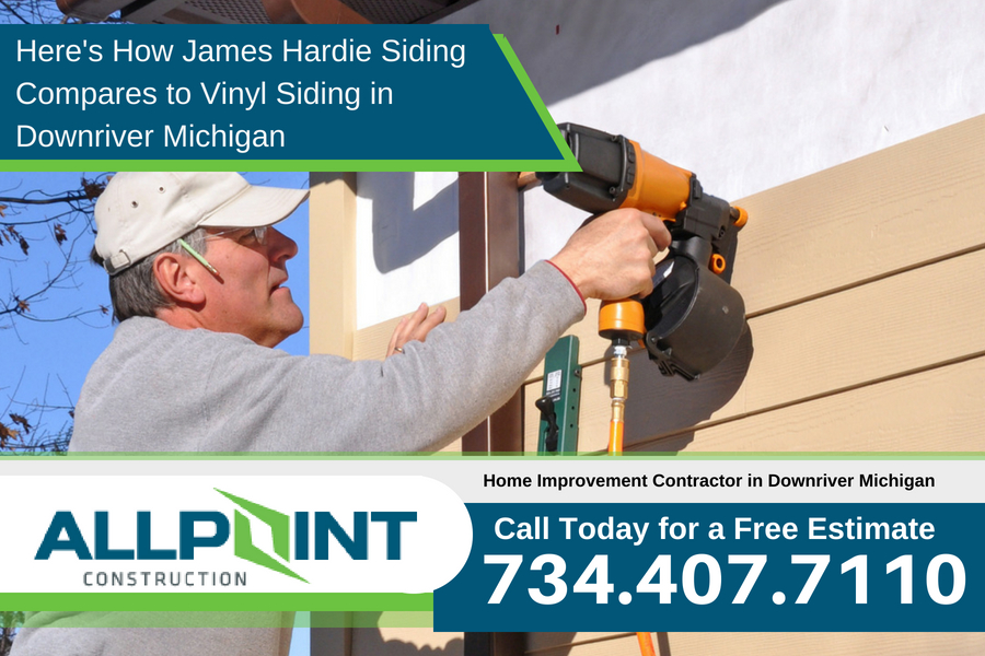 Here's How James Hardie Siding Compares to Vinyl Siding in Downriver Michigan