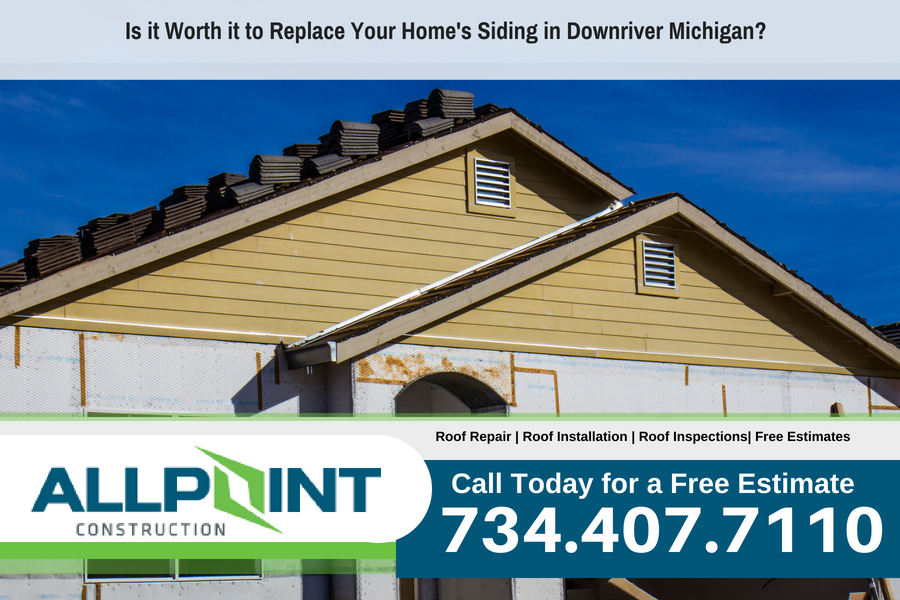 Is it Worth it to Replace Your Home's Siding in Downriver Michigan?