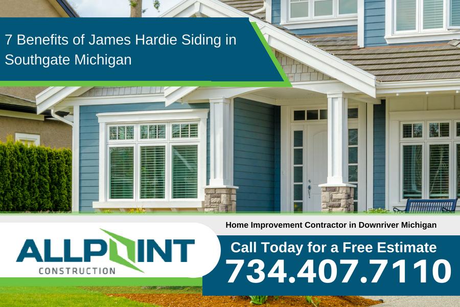 7 Benefits of James Hardie Siding in Southgate Michigan