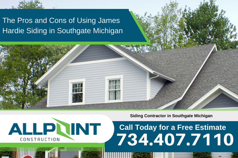 The Pros and Cons of Using James Hardie Siding in Southgate Michigan