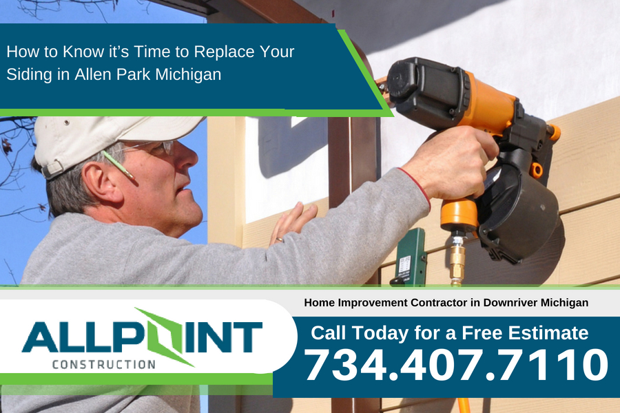 How to Know it's Time to Replace Your Siding in Allen Park Michigan