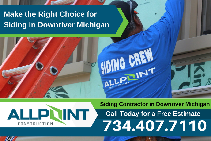 Make the Right Choice for Siding in Downriver Michigan