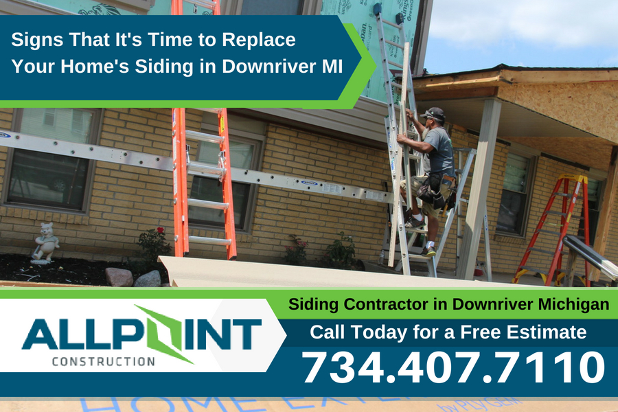 Signs That It's Time to Replace Your Home's Siding in Downriver Michigan?