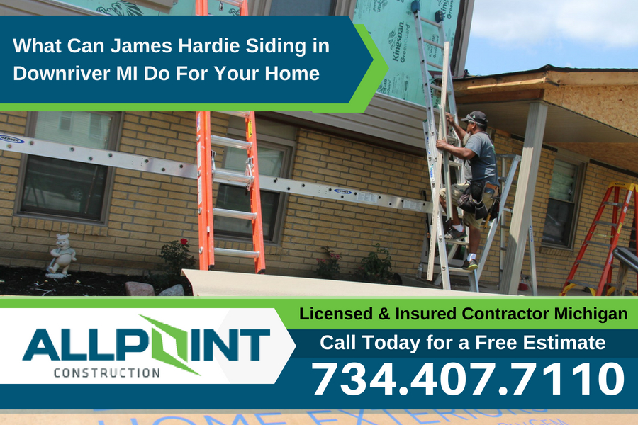 What Can James Hardie Siding in Downriver Michigan Do For Your Home