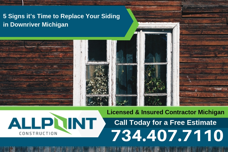 5 Signs it's Time to Replace Your Siding in Downriver Michigan