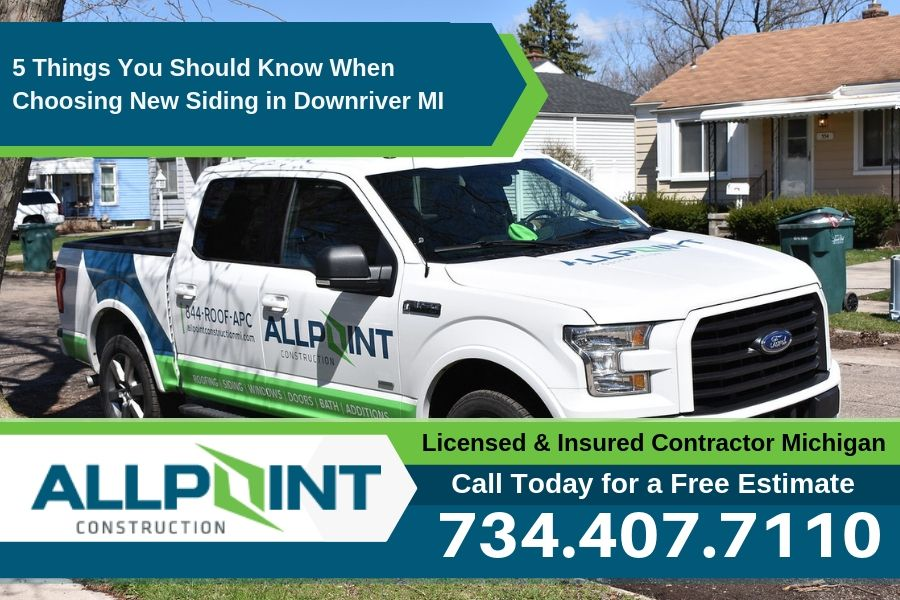 5 Things You Should Know When Choosing New Siding in Downriver Michigan