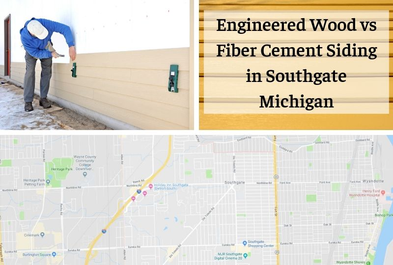 Engineered Wood vs Fiber Cement Siding in Southgate Michigan