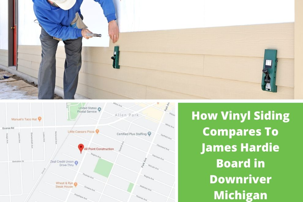 How Vinyl Siding Compares To James Hardie Board in Downriver Michigan